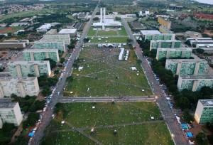 Esplanada dos Ministérios, Brasília (vejanomapa.com.br).