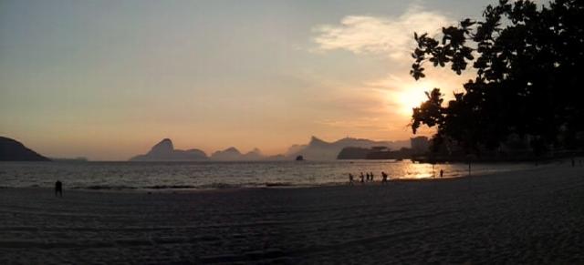 Icaraí, Niterói (foto do autor).