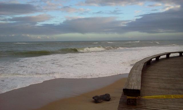 Praia dos Cavaleiros, Macaé-RJ (foto do autor).