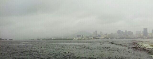 Tarde enevoada e fresca de verão, no Rio de Janeiro (foto do autor).