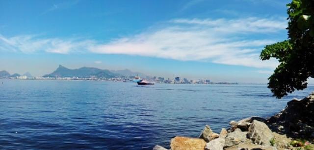 Panorama visto da Avenida Litorânea (foto do autor).