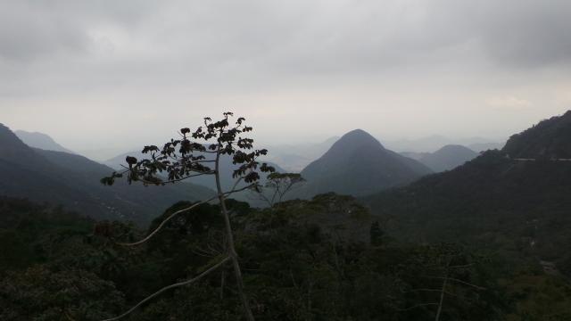Vista a partir do Alto do Soberbo, Teresópolis-RJ.