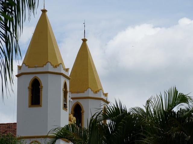 Torres da Igreja Matriz de Santo Antônio.