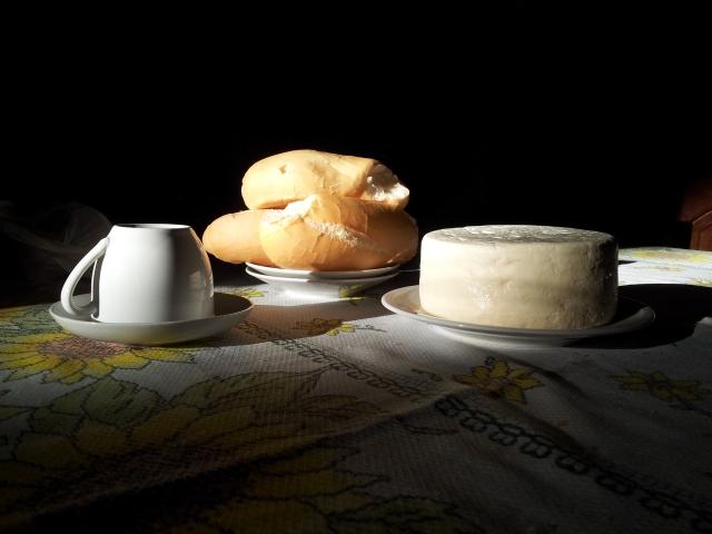 Café tarde na casa paterna (foto do autor).